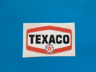 TEXACO printed sticker/decal x2